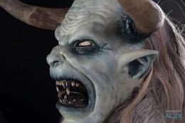 Krampusmaske BJ 2012 zu verkaufen